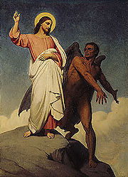 Ary Scheffer The Temptation of Christ