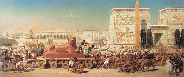 Israel in Egypt by Edward Poynter 1867