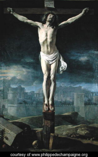 Christ on the Cross, before 1650, by Philippe de Champaigne